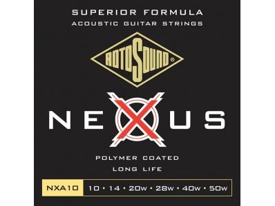 ROTOSOUND NXA 10 Ακουστικής 10-50